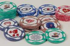 Multipurpose Board Game Tokens - 'GameKnight' Poker Chips Add Additional Layers to Existing Games