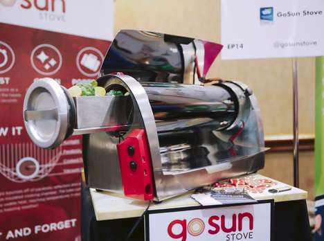 Solar-Powered Barbecues - The GoSun Grill Targets Eco-Conscious Home Owners at CES 2016