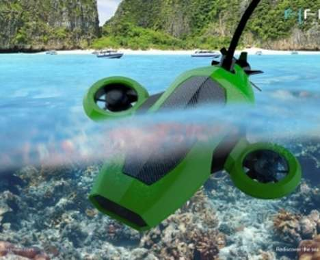 Remote-Controlled Underwater Vehicles