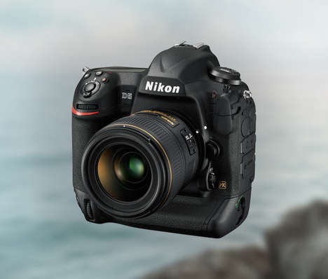 Precision Sensor Cameras - The Nikon D5 Makes its Debut at CES 2015 to the Delight of Photographers
