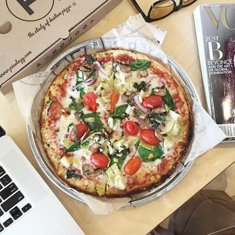 "Personalized Artisan Pizza Joints - Alabama's Pieology Aims to Be a ""Study in Custom Pizza"""