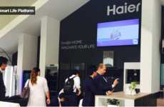 Solid-State Wine Cellars - The Solid-State Cooling Technology Developed by Haier Debuted at CES 2016