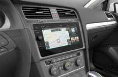 Enhanced Automobile Interfaces - The Volkswagen e-Golf Touch Interface is Released at CES 2016