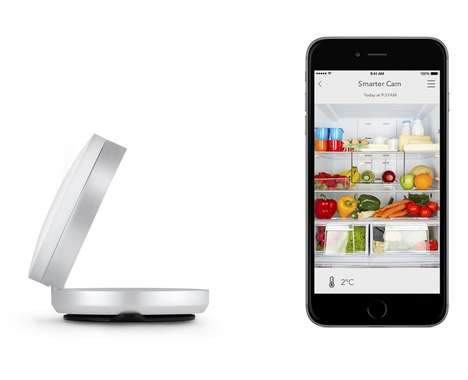 Food-Monitoring Fridge Cameras