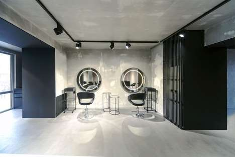Ultramodern Salon Designs - Numero Uno is a Stunning Minimalist Beauty Salon in Kazakhstan
