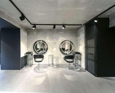 Ultramodern Salon Designs