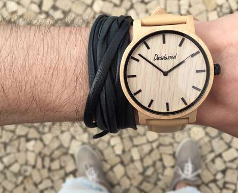 Handcrafted Wooden Timepieces