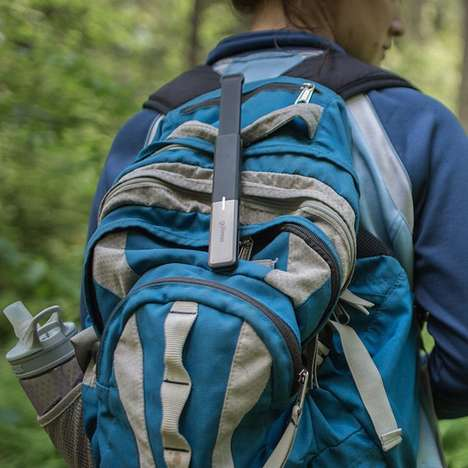 Off-Grid Smartphone Antennas - The goTenna Transforms a Mobile Device into a Signal Cell Tower