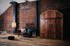 Free-Standing Wine Cellars - The Sommi Offers an Antiquated Wine Room that Can be Added to Any Home