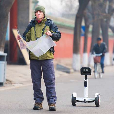 Personal Mobility Robots - The Segway Robot is One Part Robot, One Part Scooter at CES 2016