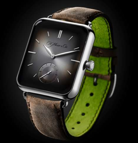 Smartwatch-Inspired Timepieces - The 'Alp' Mechanical Watch from H. Moser & Cie is Apple Watch-Like