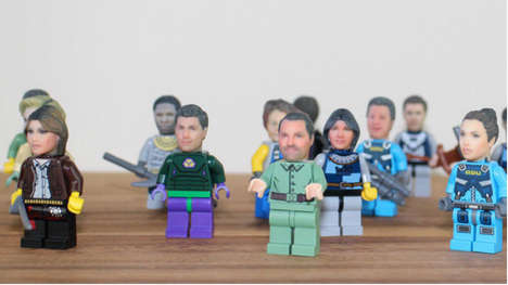 Customized LEGO Figurines - Funky 3D Faces Enables Users to Create a Custom LEGO Minifig