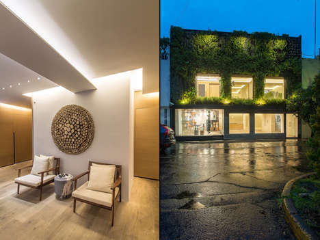 Architecture Firm Design Showrooms - The Mexico City Showroom Features EZEQUIELFARCA Past Projects