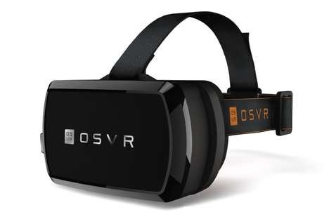 Modular VR Headsets - The 'Hacker Dev Kit' from 'OSVR' Made Its Debut at CES 2016