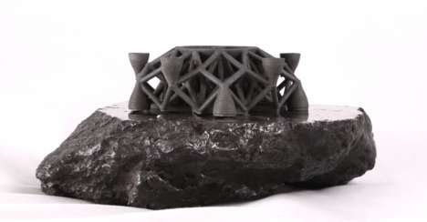 Meteoric Printing Filaments - At CES 2016, Planetary Resources Showed Off 3D-Printed Alien Metal