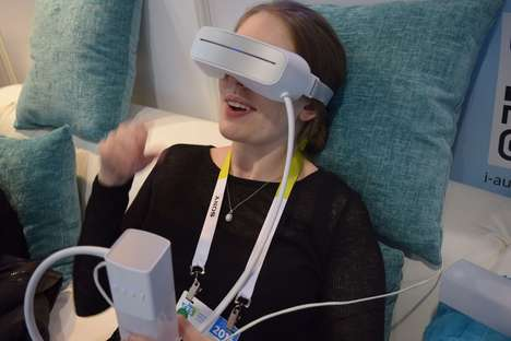 Water-Powered Eye Massagers - The Aurai Eye Massager Provides Relaxation at CES 2016