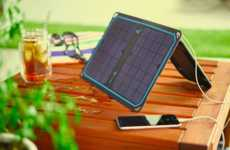 Solar Panel Smartphone Chargers - The Newest 'Sunbook' Products Were Debuted at CES 2016