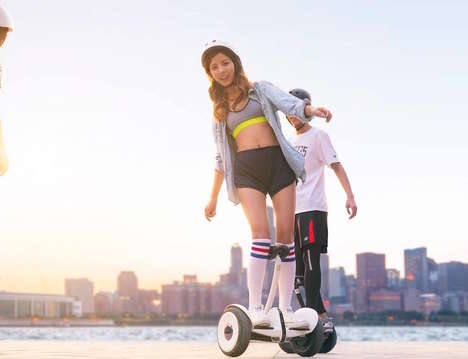 Versatile Handsfree Scooters - The Segway Ninebot miniPRO Offers Enhanced Range at CES 2016