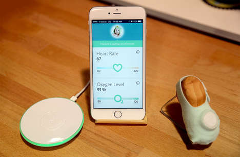 Intuitive Baby Monitors - The Latest Model of the Owlet Smart Baby Monitor Was Presented at CES 2016