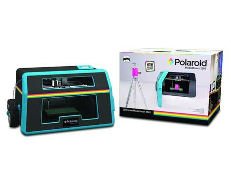 Photography Brand 3D Printers - The Polaroid ModelSmart 250S 3D Printer Comes to CES 2016