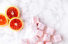 Juiced Citrus Marshmallows - These Homemade Candies are Infused with Fresh Blood Orange Flavor
