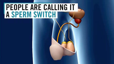Switchable Male Contraceptives - The Sperm Switch Allows Men to Turn on and Off the Flow of Semen