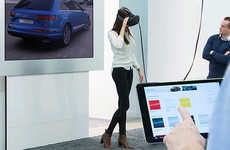 VR Dealership Showrooms - The Audi Virtual Showroom was Showcased by the Brand at CES 2016