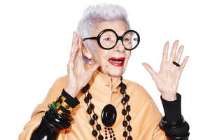 The Iris Apfel for Wisewear Line Are Stylish Safety Tools for Seniors
