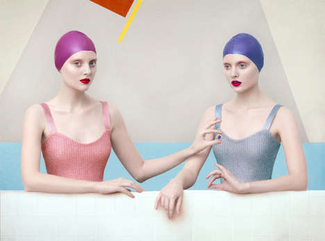 Painting-Inspired Editorials - Left March by Yakovlev Andrey Brings Modern Art to Life