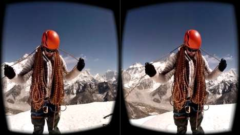 VR Winterwear Apps - Jaunt and North Face Take Shoppers on a Virtual Adventure