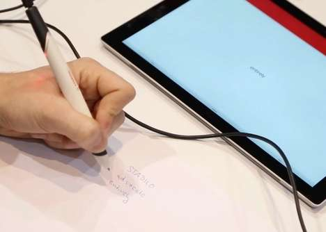 Versatile Digital Pens - The Stabilo Digipen Can Operate on Any Kind of Paper