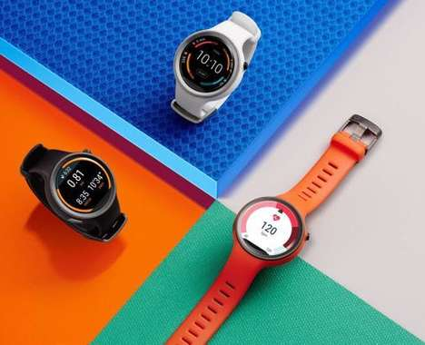 Vibrant Sporty Smartwatches