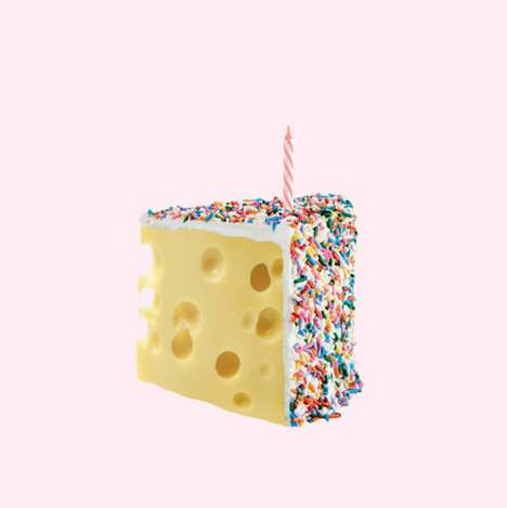 Pastel Pun Photography - Lizzie Darden Creates Clever Visualizations of Food, Sayings and More
