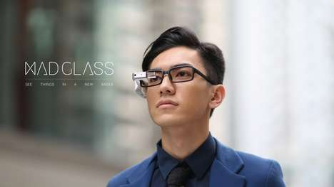 Supplementary AR Glasses - MAD Glass Smart Wearables Enable Any Glasses to be Smart