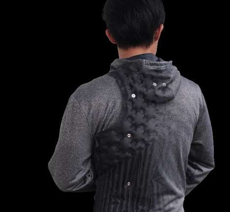 Posture-Correcting Garments - The 'AiraWear' Device Enables Health Posture and Much More