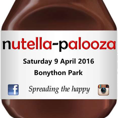 Chocolate-Celebrating Festivals - The 'Nutella-Palooza' Festival Celebrates the Iconic Spread