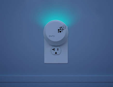 Smart Air Fresheners - The 'Pura Scents' Plug-In Air Freshener is App-Controlled for Convenience