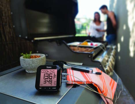 Bluetooth BBQ Thermometers - The 'Grill Right' Bluetooth Grill Thermometer Makes Barbecuing Easier