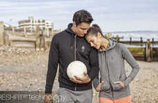 Technical Activewear Collections - HPE's Sportswear Range Supports Muscles and Promotes Comfort