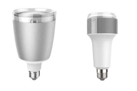 Voice-Activated Light Bulbs - The Sengled Voice Bulbs Revealed at CES 2016 Turn on When Glass Breaks