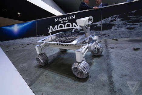 Auto-Backed Space Projects - Part Time Scientists' Audi Rover Will Debut at the Detroit Auto Show