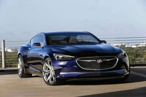 Sleek Concept Coupes - The Buick Avista Will Next Be Seen as a Prototype at the Detroit Auto Show