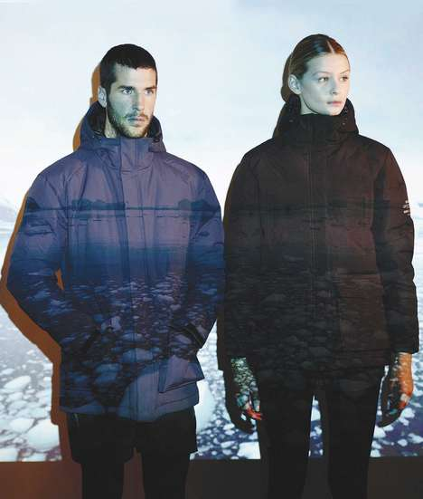 Upcycled Plastic Bottle Parkas - These Eco-Friendly Jackets are Made Out of Discarded Materials