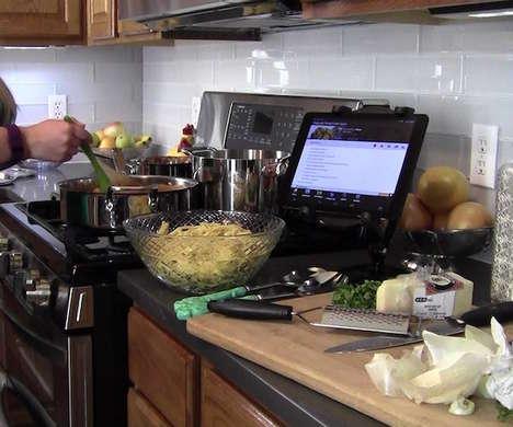 HD Digital Cookbooks - The Key Ingredient 'Recipe Reader' HD Tablet Helps Chefs Prepare Food
