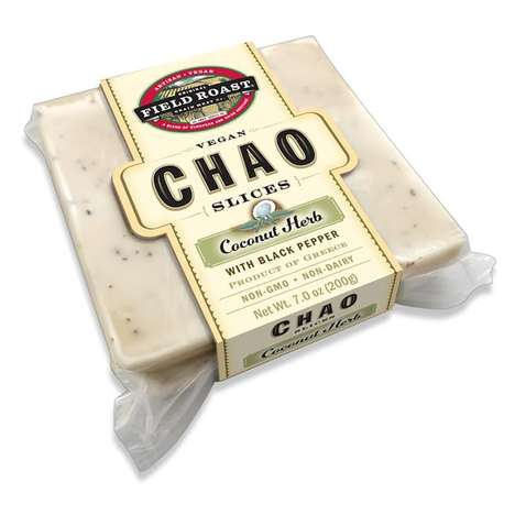 Artisan Coconut Cheese - Field Roast's 'Chao' Slices are a Vegan Cheese Alternative