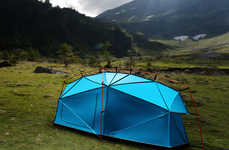 Lightning-Proof Tents - The 'Bolt' Tent Protective Shelter Shields Adventurers from the Elements