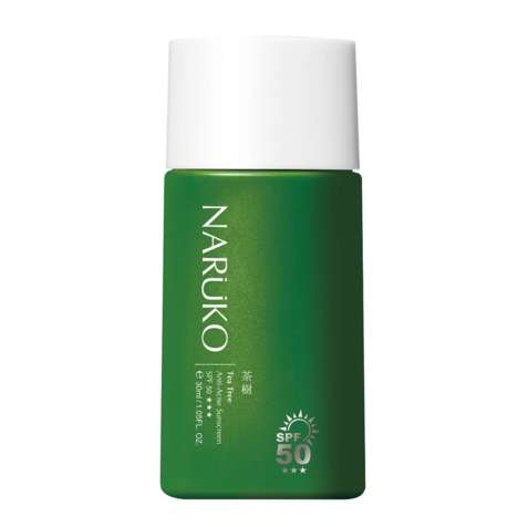 Acne-Treating Sunscreens - Naruko's Anti-Acne Sunscreen Protects Skin and Clears Blemishes