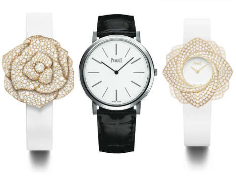 Romantic Watch Collections - The Piaget Rose Collection Celebrates Valentine's Day in Dazzling Style