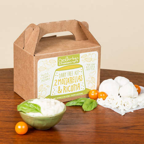 DIY Dairy-Free Cheese Kits - UrbanCheesecraft's DIY Cheese Kit Creates Vegan-Friendly Options