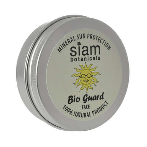 Organic Sunscreen Tins - Siam Botanicals' Bio Guard Sun Protection Cream is 100% Natural
